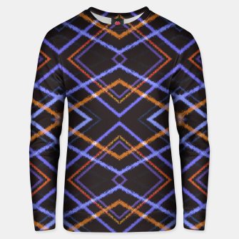 Intersecting Diamonds Motif  Pattern Unisex sweater thumbnail image