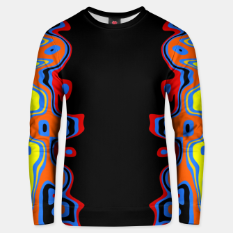 Thumbnail image of Two Sided Abstract Unisex sweater, Live Heroes
