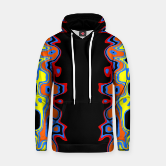 Thumbnail image of Two Sided Abstract Hoodie, Live Heroes