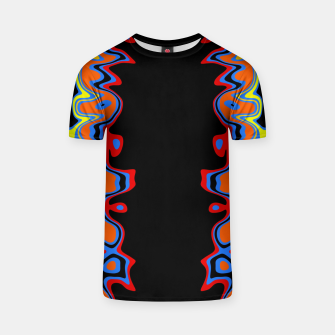 Thumbnail image of Two Sided Abstract T-shirt, Live Heroes