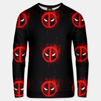 Thumbnail image of deadpool Unisex sweater, Live Heroes