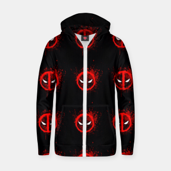 Thumbnail image of deadpool Zip up hoodie, Live Heroes