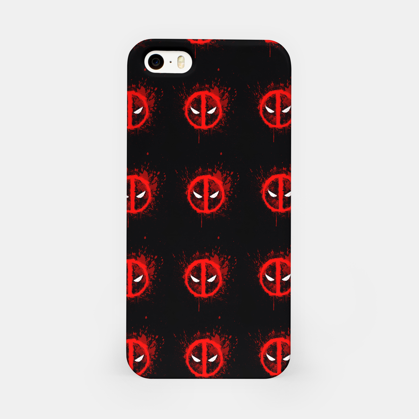 Image of deadpool iPhone Case - Live Heroes