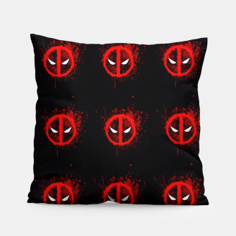 Thumbnail image of deadpool Pillow, Live Heroes