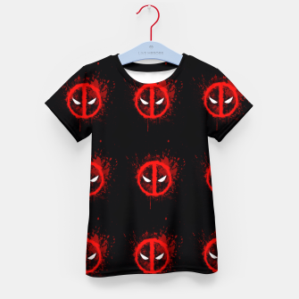 Thumbnail image of deadpool Kid's t-shirt, Live Heroes