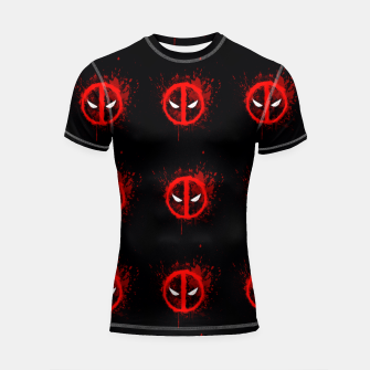 Thumbnail image of deadpool Shortsleeve rashguard, Live Heroes