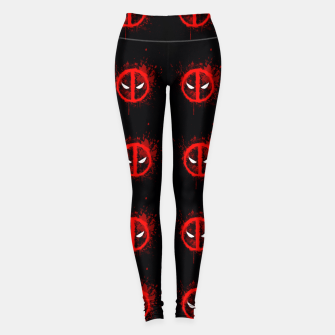 Thumbnail image of deadpool Leggings, Live Heroes