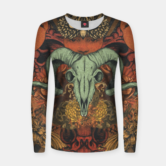 Thumbnail image of Horns Shrine Women sweater, Live Heroes