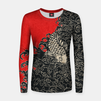 Thumbnail image of Koi Women sweater, Live Heroes