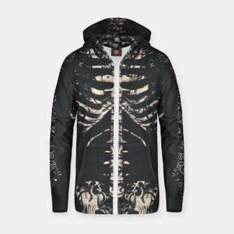 Miniatur Tattooed Skeleton  Zip up hoodie, Live Heroes