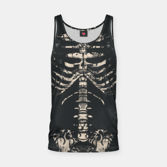 Thumbnail image of Tattooed Skeleton  Tank Top, Live Heroes