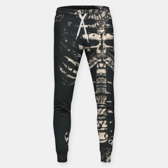 Miniatur Tattooed Skeleton  Sweatpants, Live Heroes