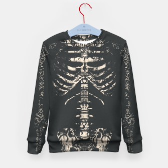 Miniatur Tattooed Skeleton  Kid's sweater, Live Heroes