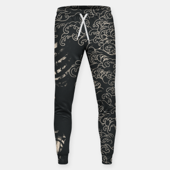 Miniaturka Waved Tattooed Skeleton  Sweatpants, Live Heroes