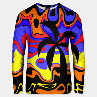 Thumbnail image of Black Palm Unisex sweater, Live Heroes