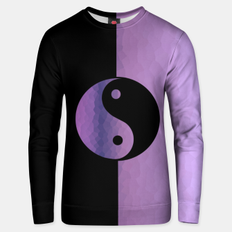 Thumbnail image of Yin And Yang Purple Unisex sweater, Live Heroes