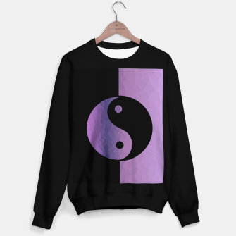 Miniature de image de Yin And Yang Purple Sweater regular, Live Heroes