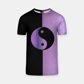 Thumbnail image of Yin And Yang Purple T-shirt, Live Heroes
