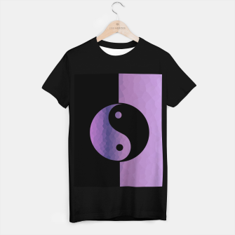 Miniature de image de Yin And Yang Purple T-shirt regular, Live Heroes