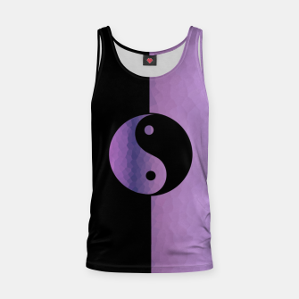 Imagen en miniatura de Yin And Yang Purple Tank Top, Live Heroes