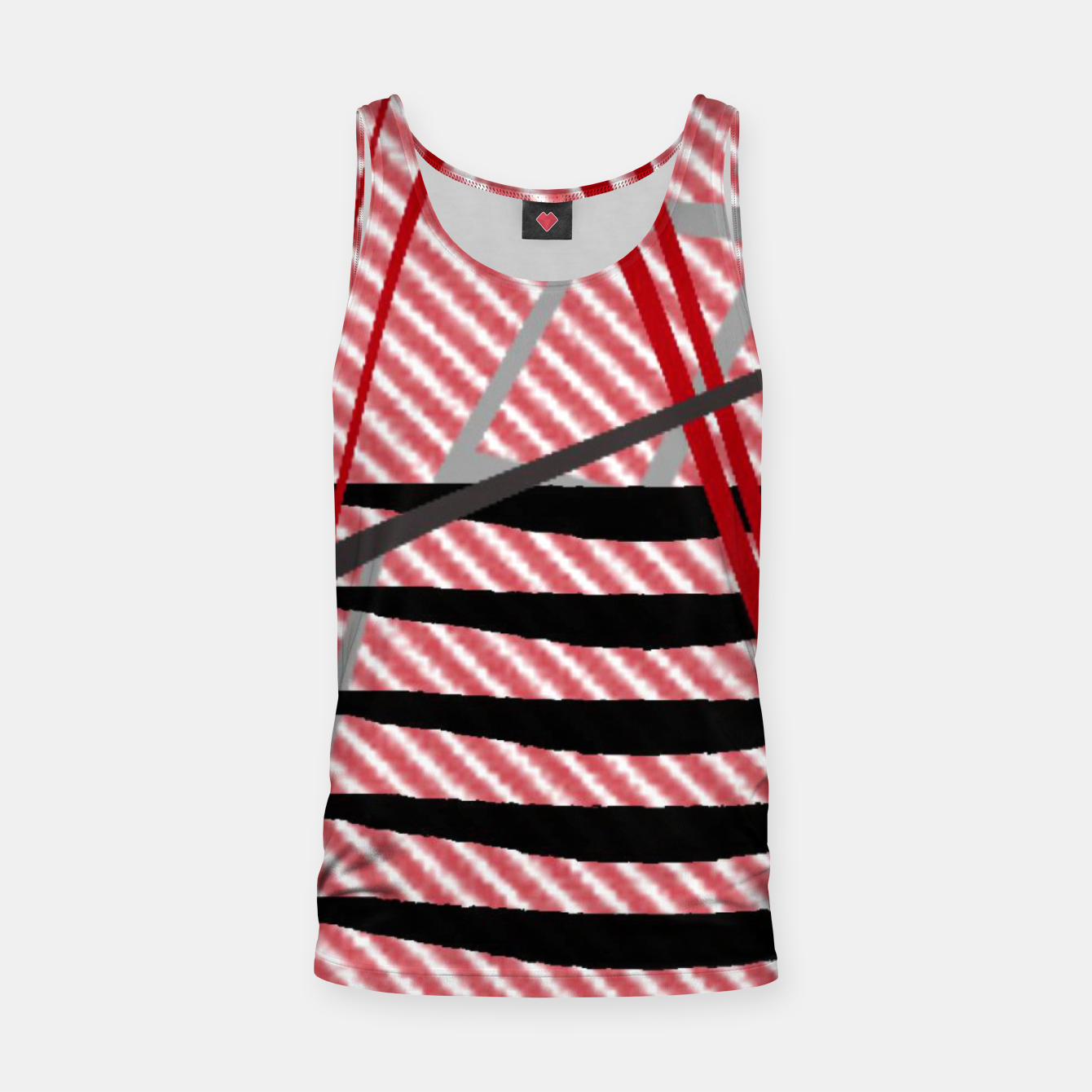 Image of Abstract geometric sunset Tank Top - Live Heroes