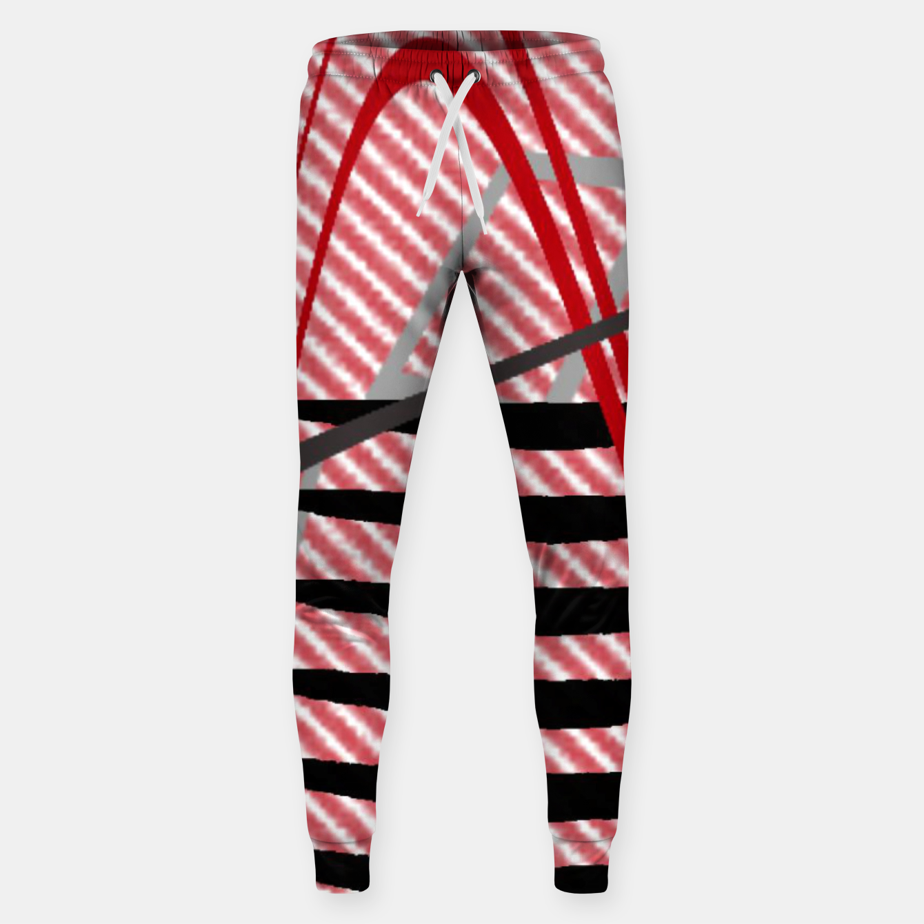 Image of Abstract geometric sunset Sweatpants - Live Heroes