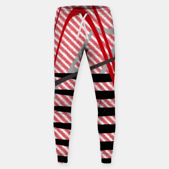 Thumbnail image of Abstract geometric sunset Sweatpants, Live Heroes
