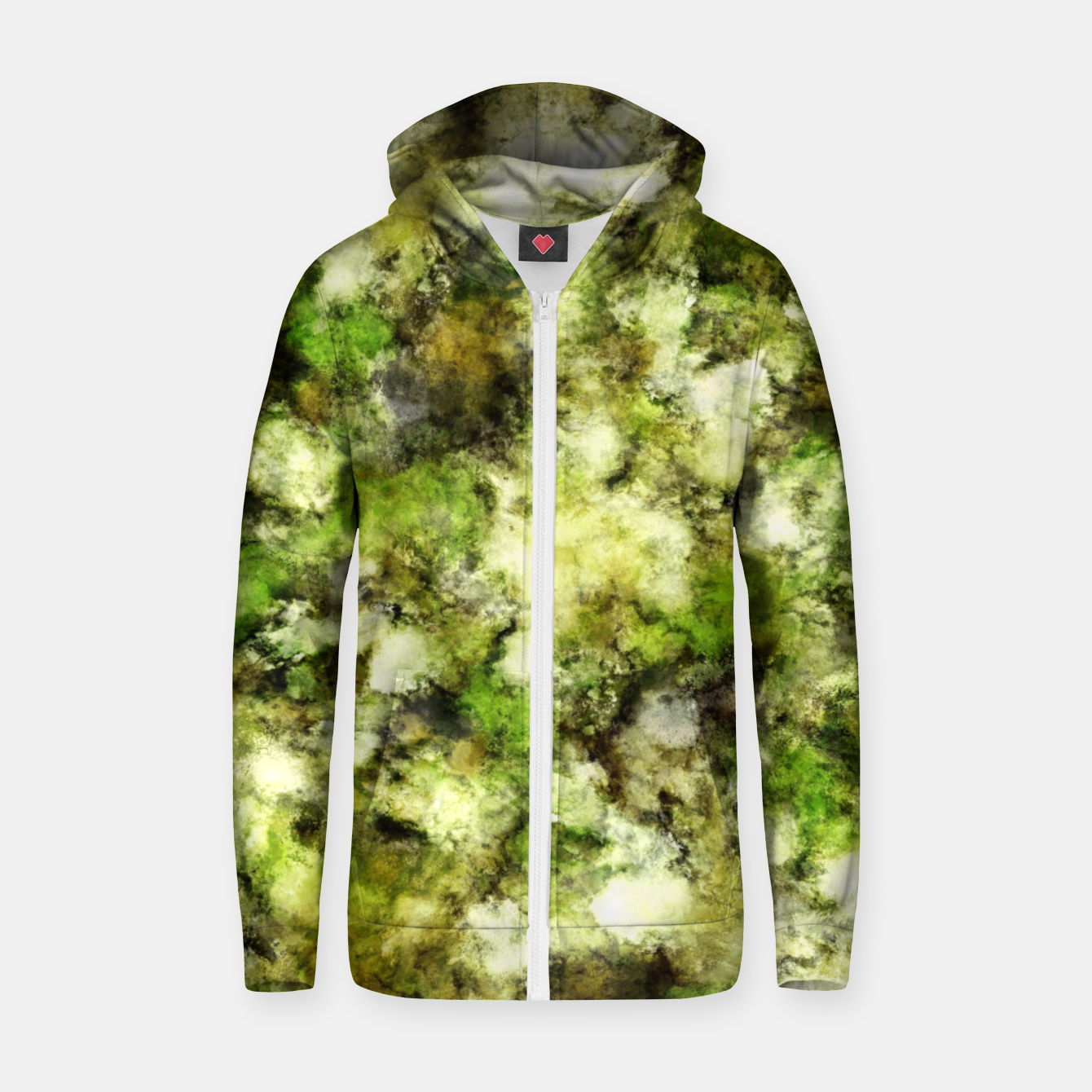 Image of The flowers have gone Zip up hoodie - Live Heroes