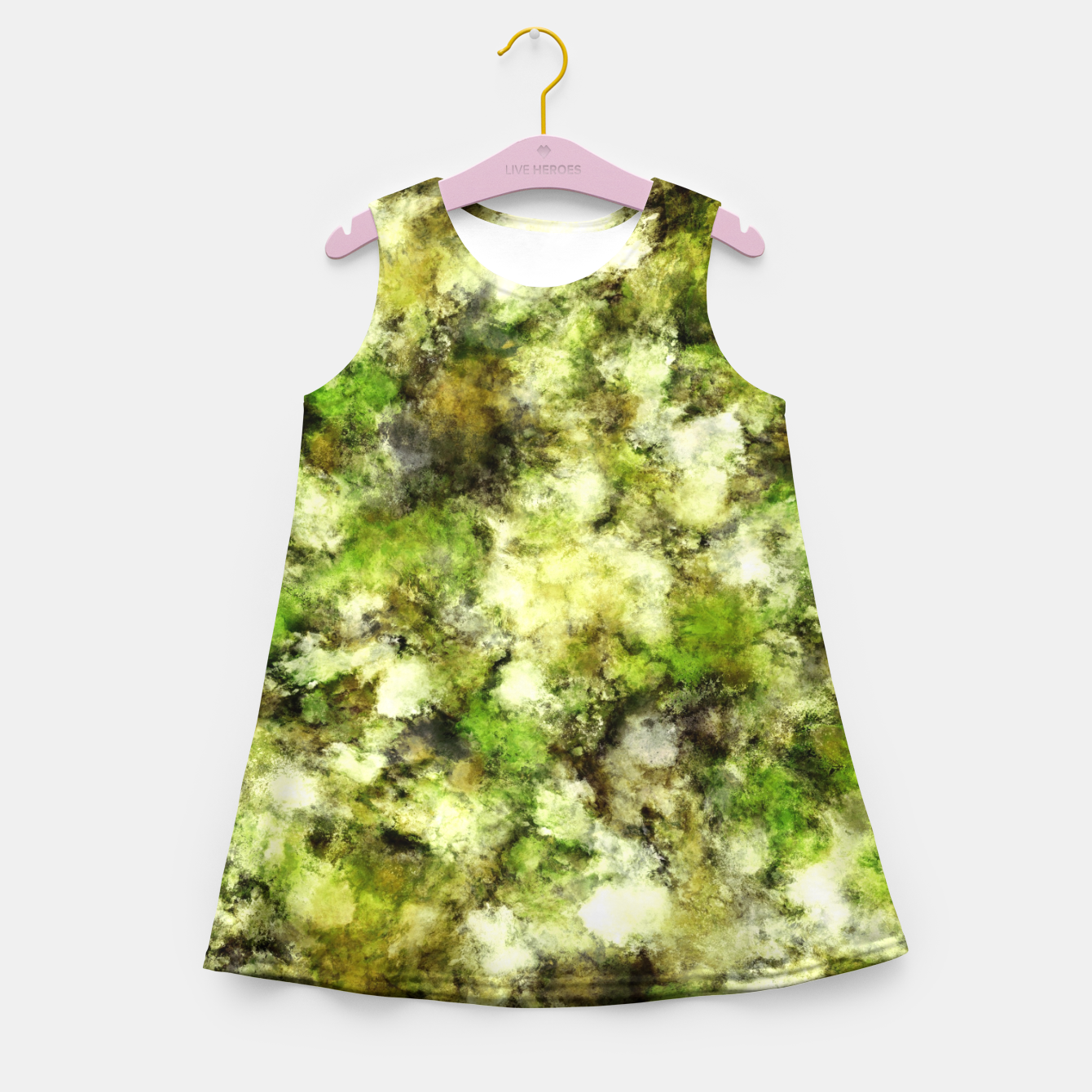 Image of The flowers have gone Girl's summer dress - Live Heroes