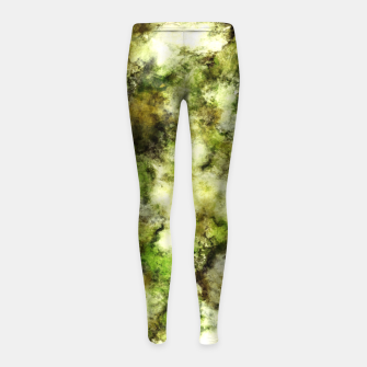 Thumbnail image of The flowers have gone Girl's leggings, Live Heroes