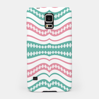 Thumbnail image of Waving Lines Vivid Print Pattern Samsung Case, Live Heroes