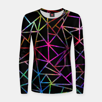 Thumbnail image of Webbed Geometric Women sweater, Live Heroes