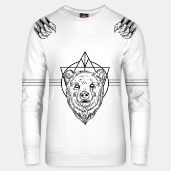 Thumbnail image of Bear with scar Bluza unisex, Live Heroes