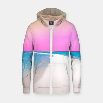 Ocean & Moon II Zip up hoodie thumbnail image