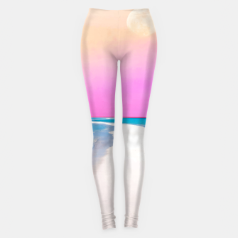 Thumbnail image of Ocean & Moon II Leggings, Live Heroes