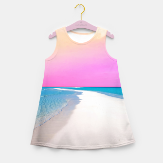 Thumbnail image of Ocean & Moon II Girl's summer dress, Live Heroes