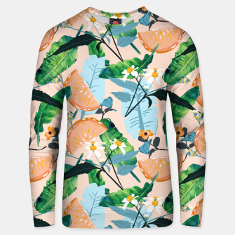 Thumbnail image of Summer Botanicals Unisex sweater, Live Heroes