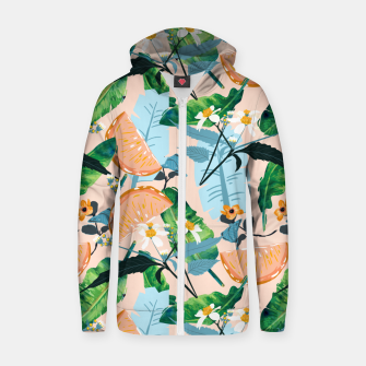 Summer Botanicals Zip up hoodie thumbnail image
