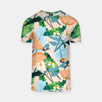Thumbnail image of Summer Botanicals T-shirt, Live Heroes