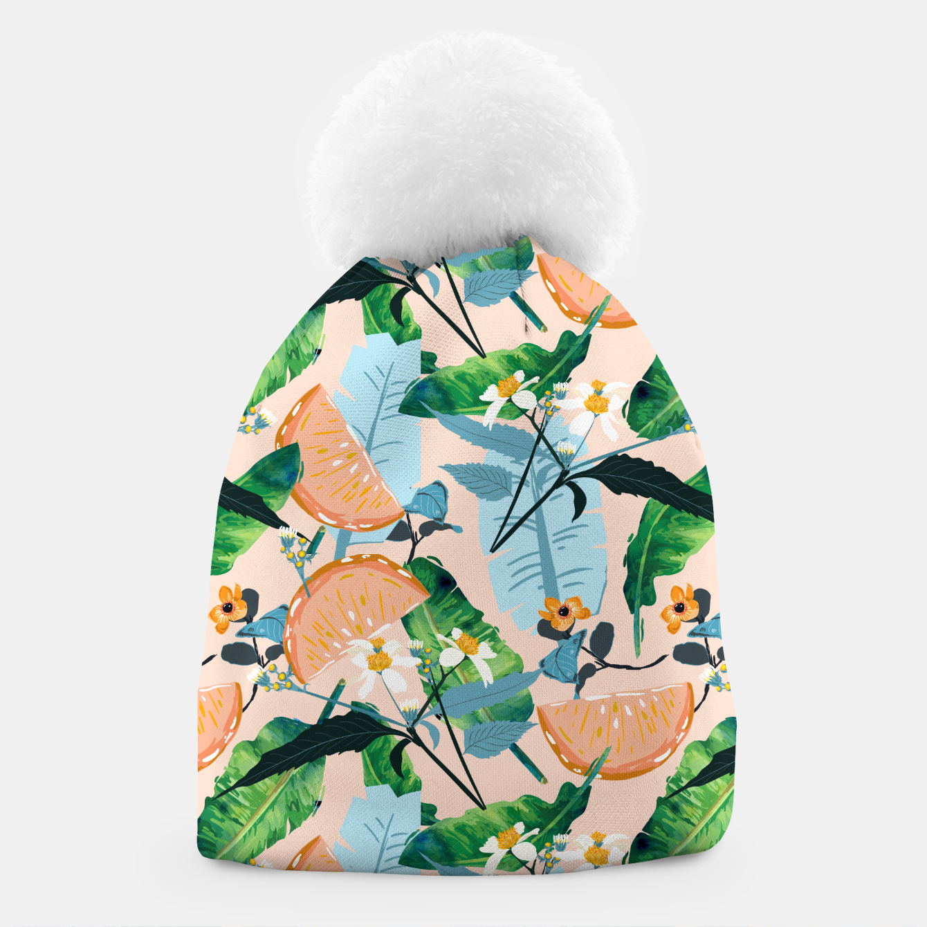 Image of Summer Botanicals Beanie - Live Heroes