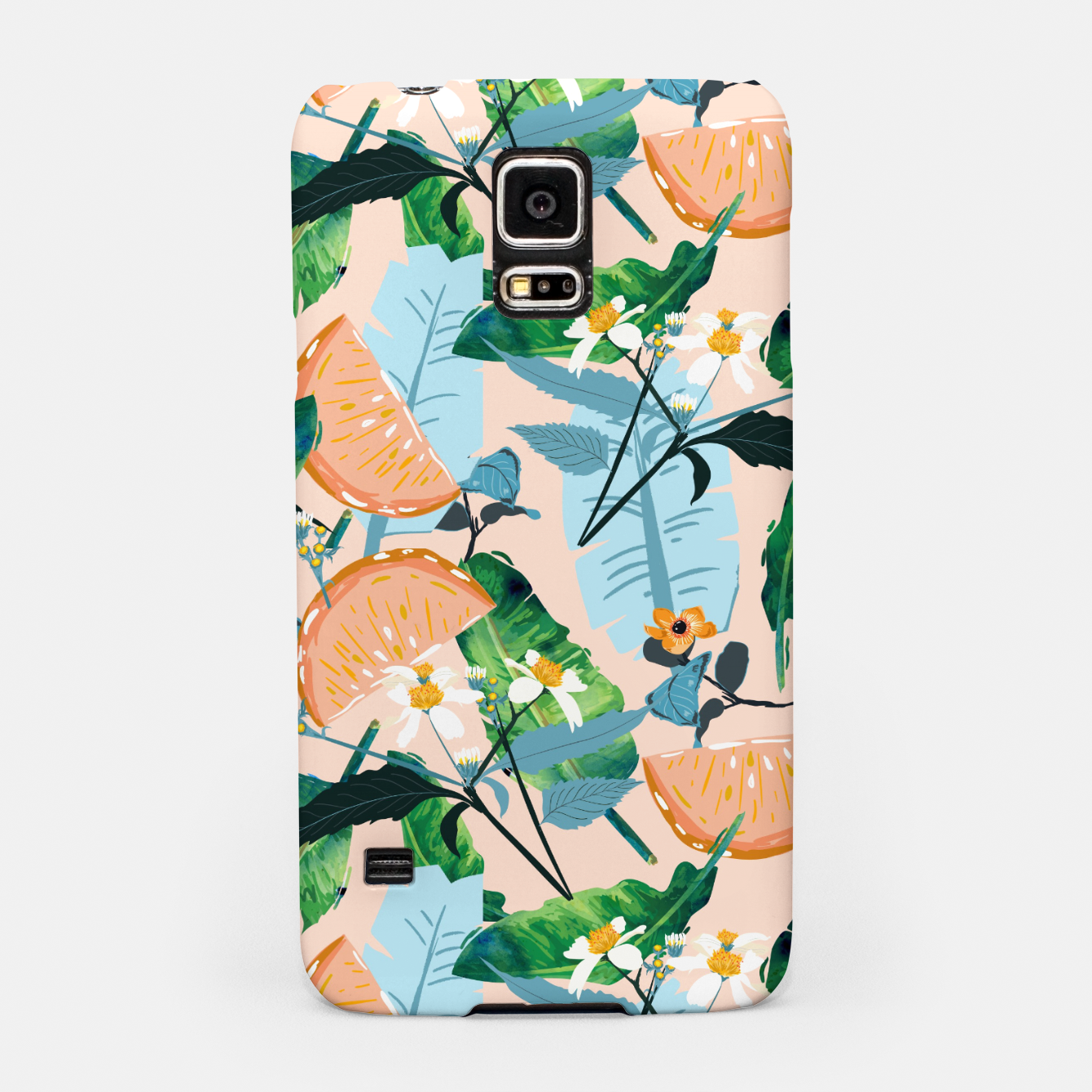 Image of Summer Botanicals Samsung Case - Live Heroes