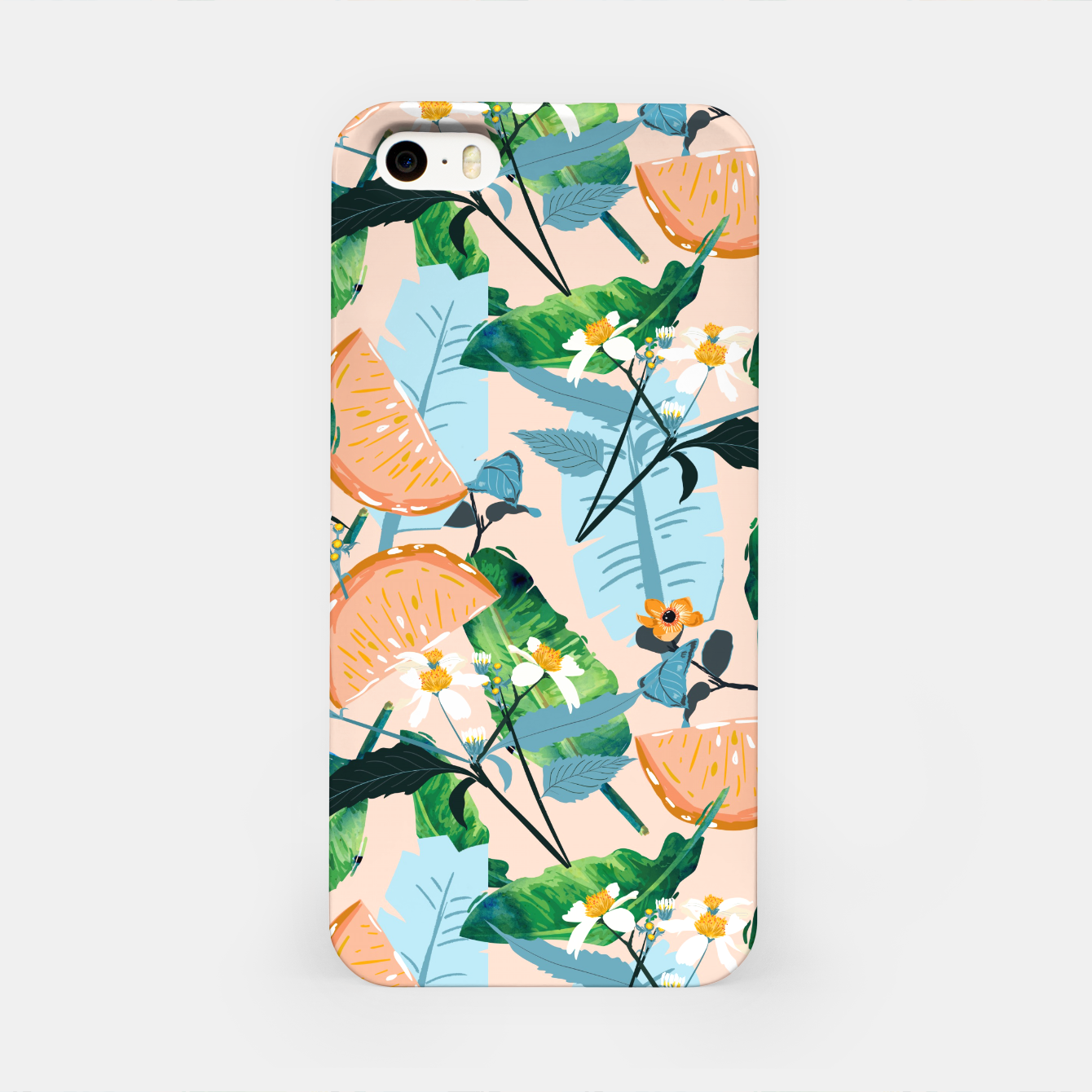 Image of Summer Botanicals iPhone Case - Live Heroes