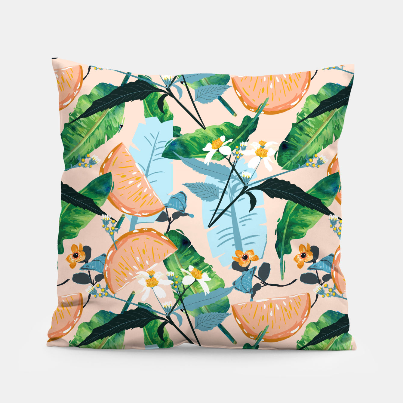 Image of Summer Botanicals Pillow - Live Heroes