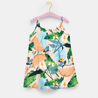 Thumbnail image of Summer Botanicals Girl's dress, Live Heroes