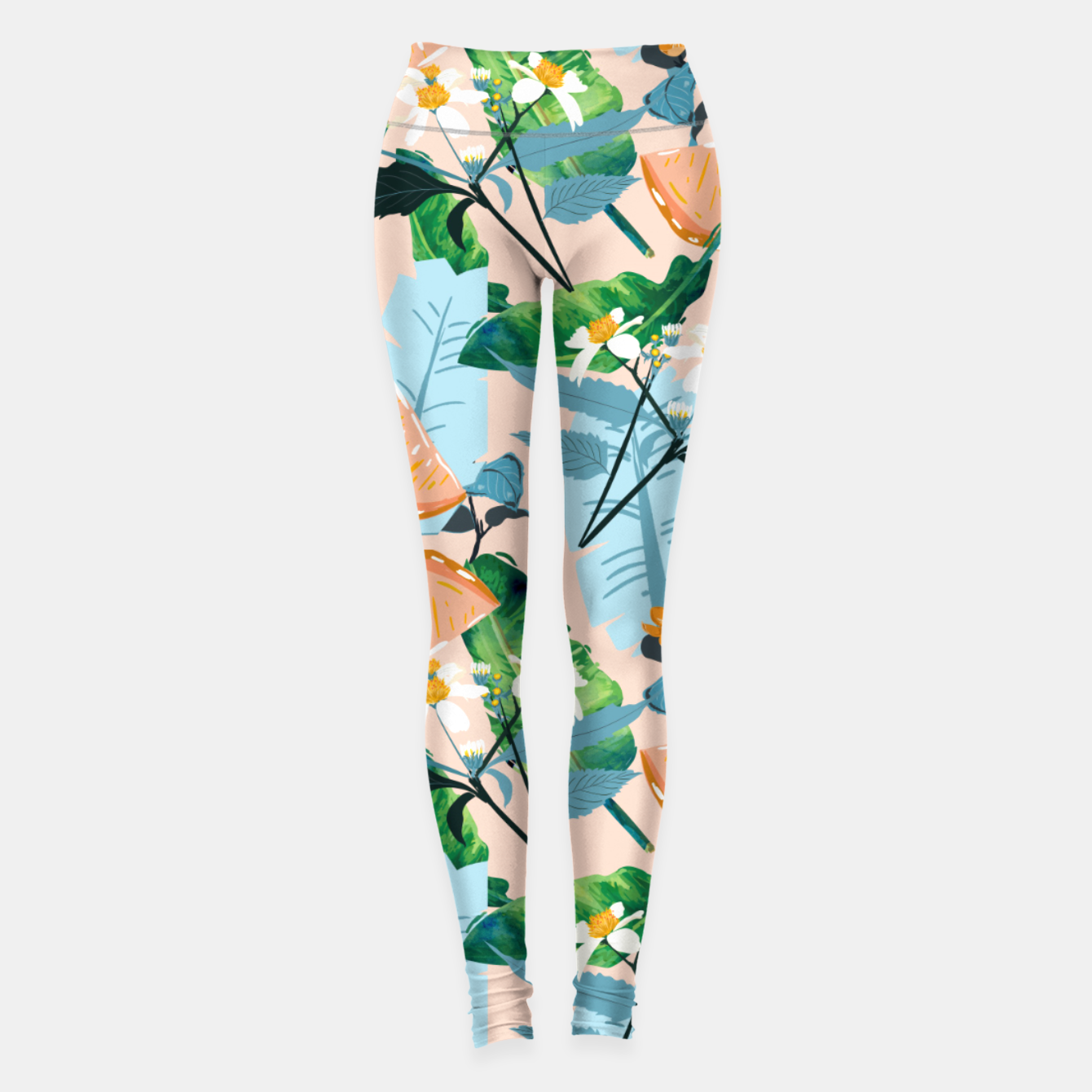 Image of Summer Botanicals Leggings - Live Heroes