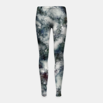 Thumbnail image of Ghosts and water Girl's leggings, Live Heroes