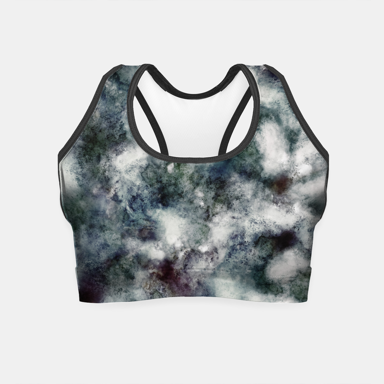 Image of Ghosts and water Crop Top - Live Heroes