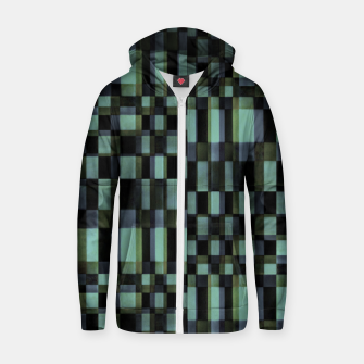 Thumbnail image of Dark Geometric Pattern Design Zip up hoodie, Live Heroes
