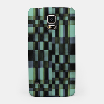 Thumbnail image of Dark Geometric Pattern Design Samsung Case, Live Heroes