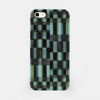Miniatur Dark Geometric Pattern Design iPhone Case, Live Heroes